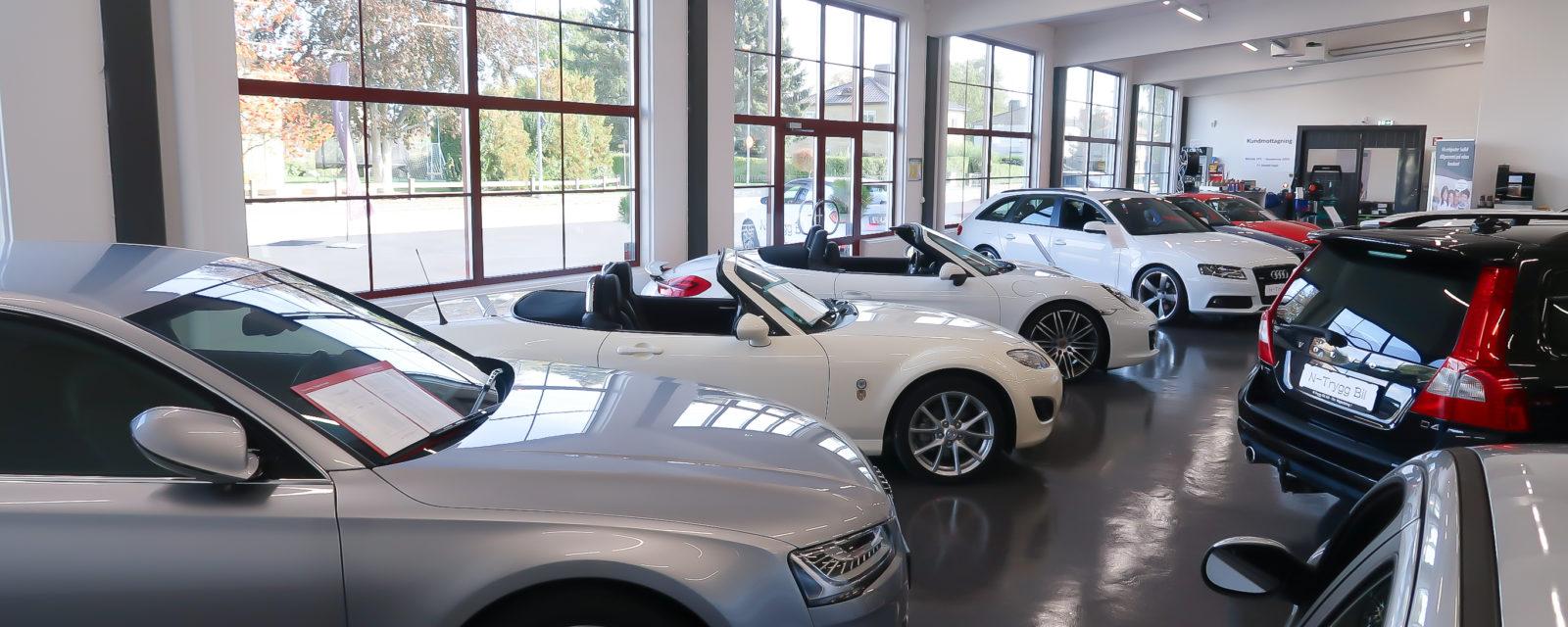 Bilförsäljning Showroom