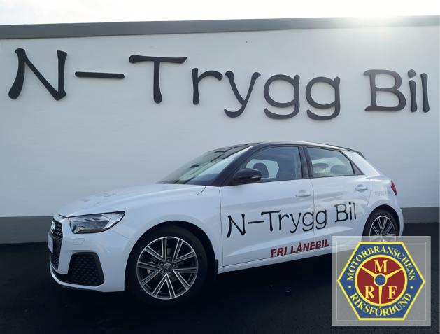 N-Trygg Bil stolt MRF medlem. N-Trygg Bil, Välkommen till en Tryggare Bilaffär!